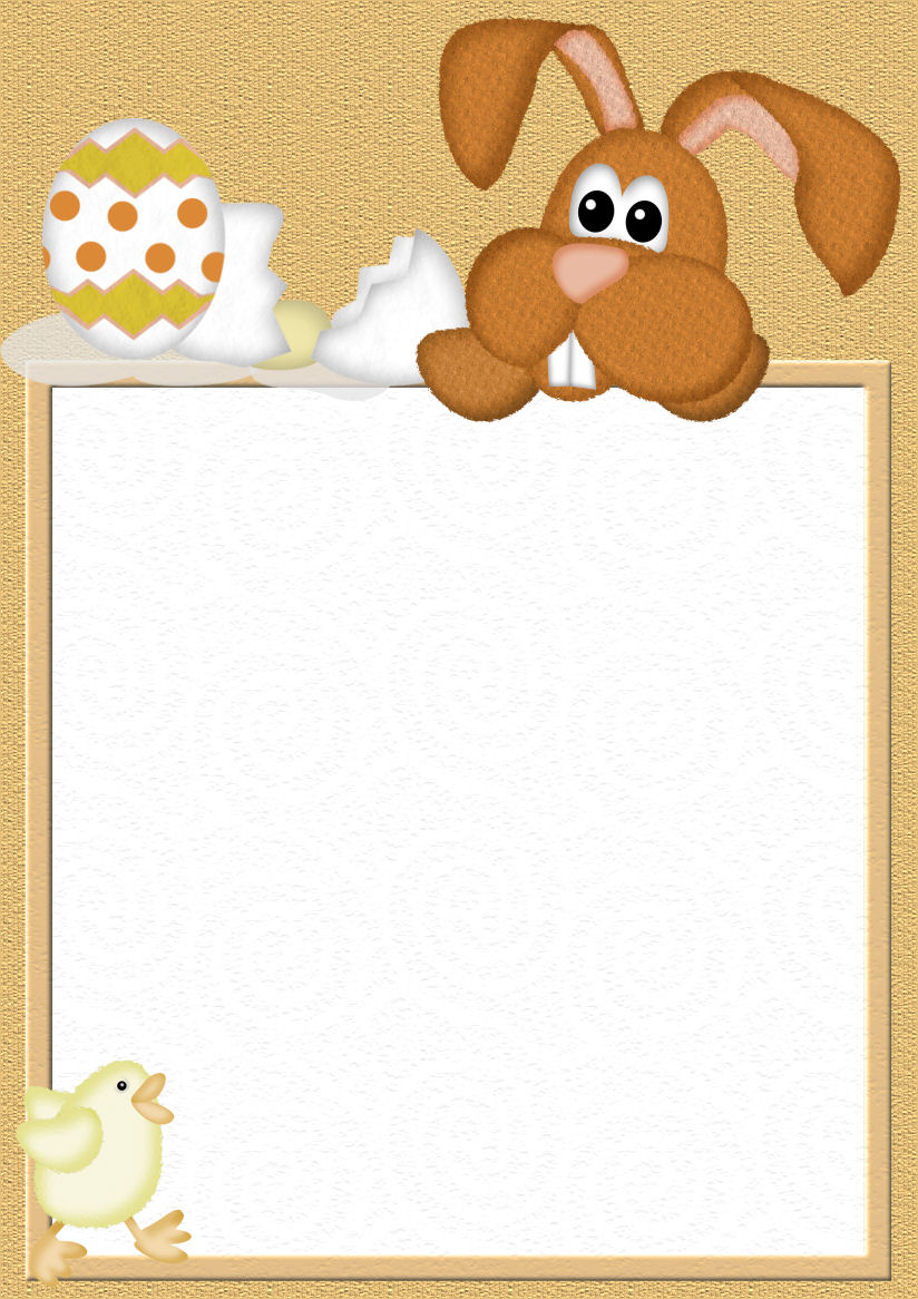 A4 Easter Stationery Downloads Page 1