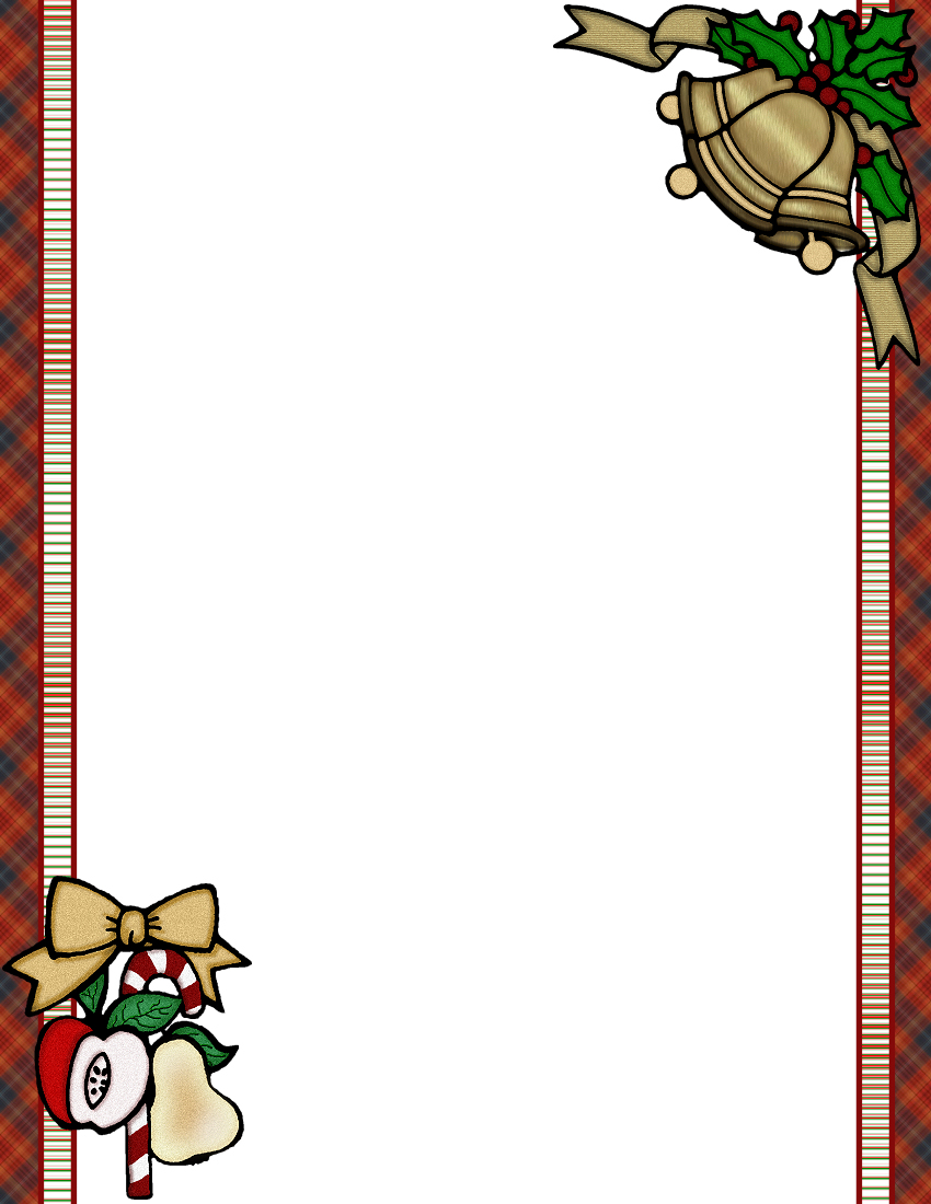Christmas 1 FREEStationery Template Downloads – Free Christmas Templates for Word