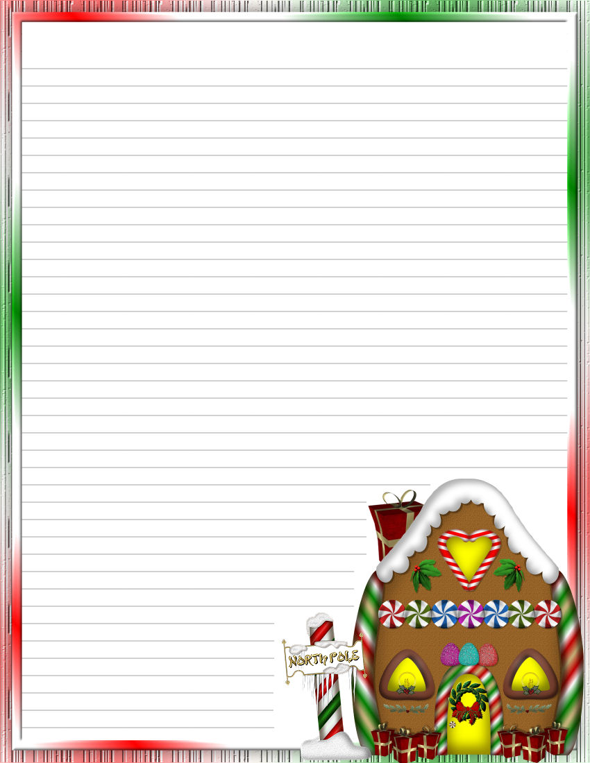 Christmas 2 FREE-Stationery.com Template Downloads