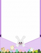 Easter bunny letter templates free counter christmas photo easter bunny letter templates free spiritdancerdesigns Image collections
