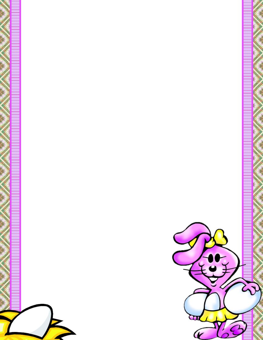 Easter Stationery 2 Theme FREE Digital Stationery