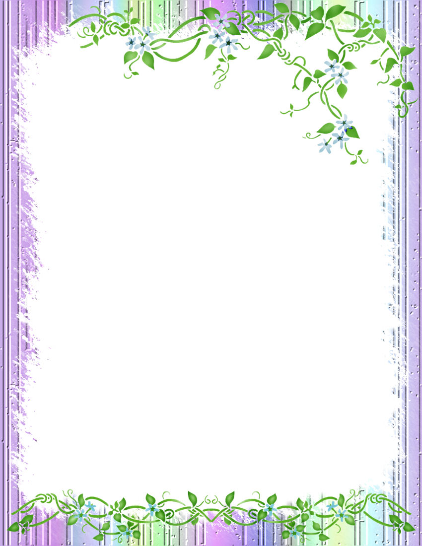 Printable stationery floral images for Themed printer paper