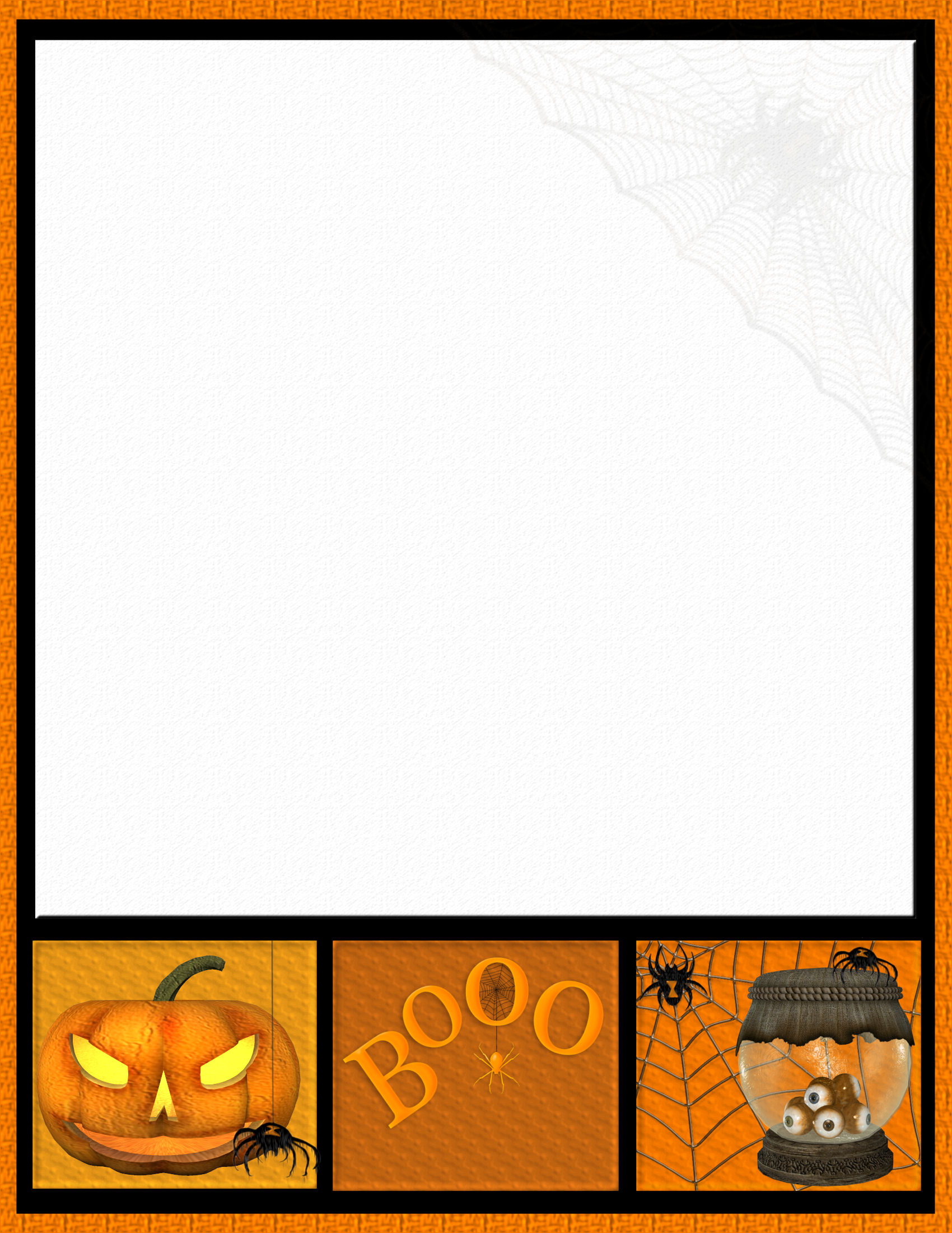 It's just a graphic of Massif Halloween Stationery Printable