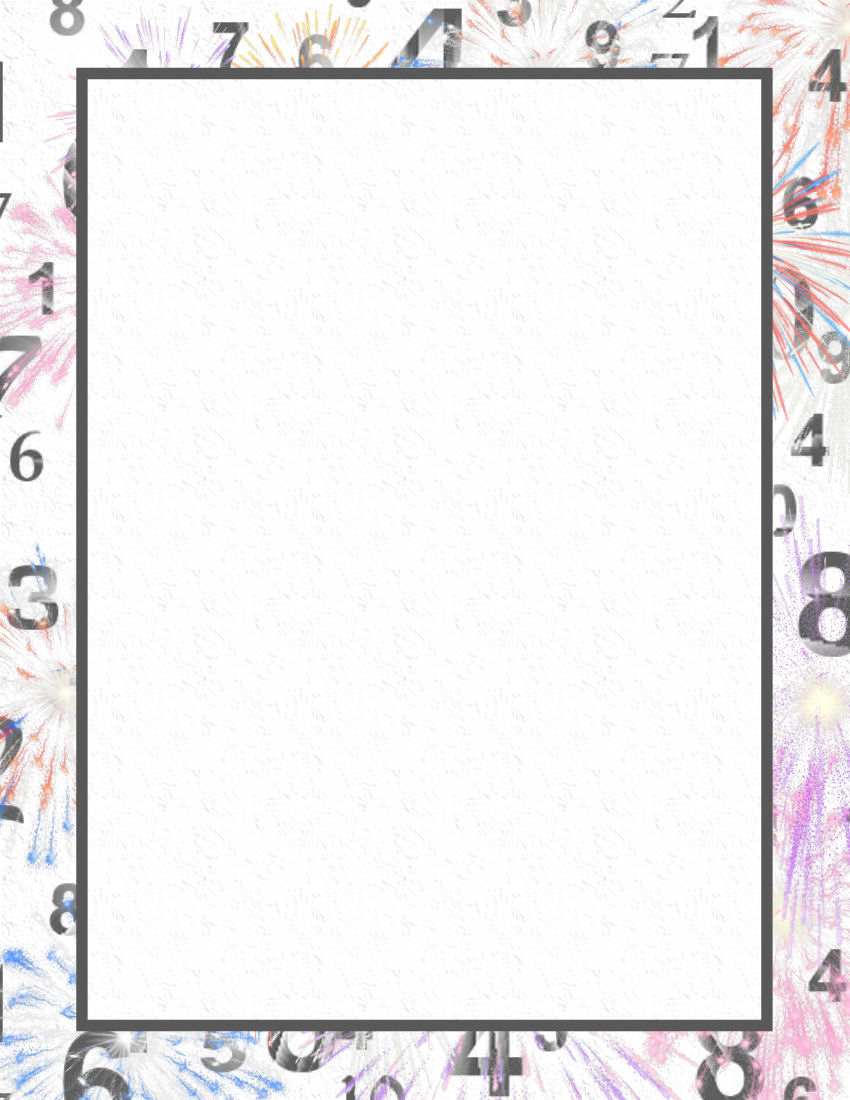 new years day stationery themes 2