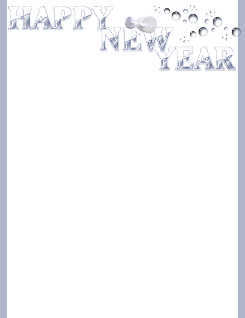 new years day stationery themes 1