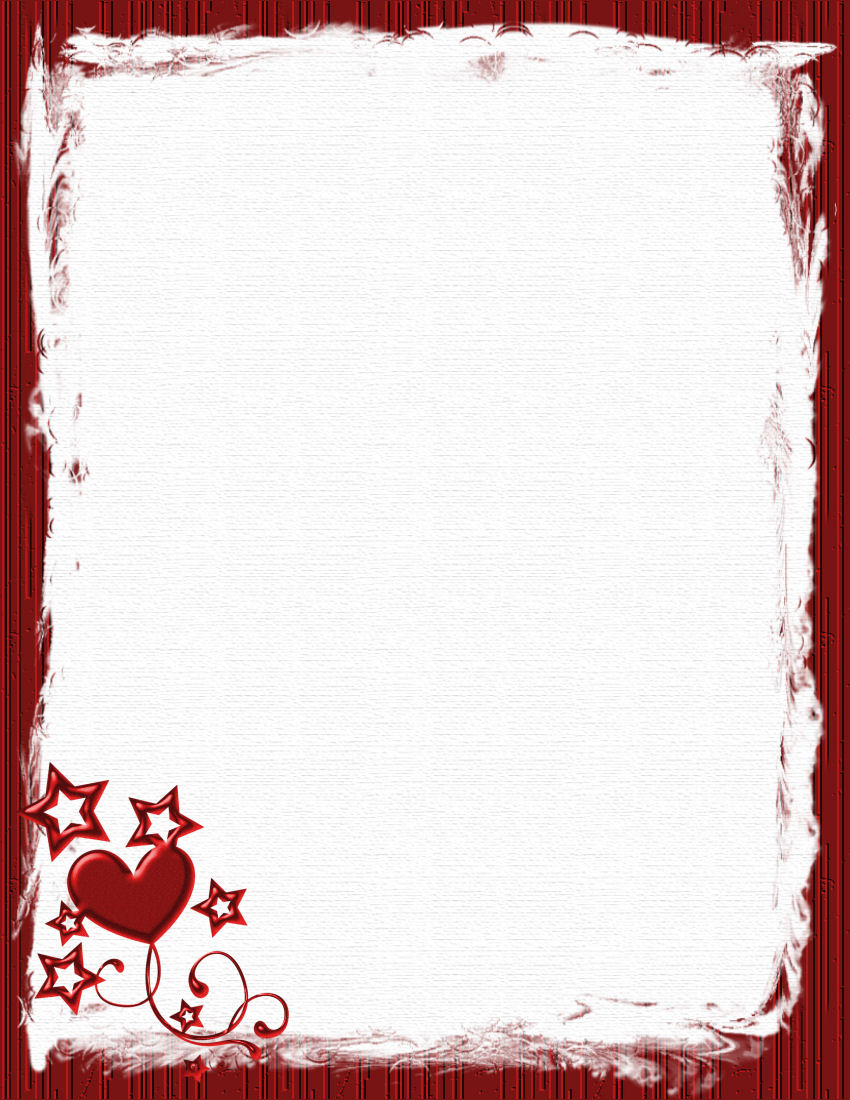 Valentines Day Borders Microsoft Word | newhairstylesformen2014.com