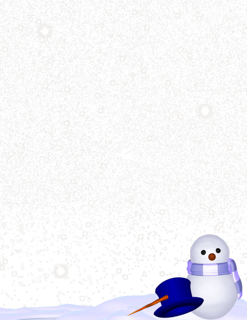 winter stationery theme downloads pg  1