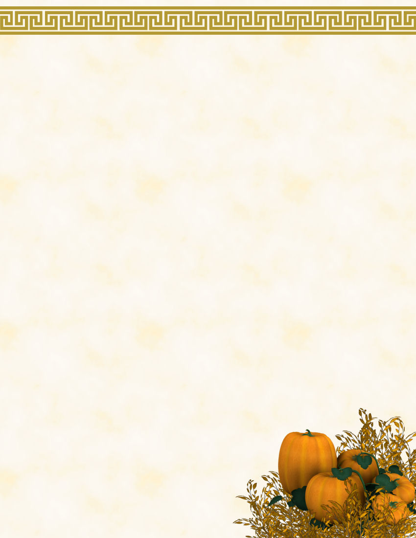 Autumn Or Fall Free Stationery Com Template Downloads