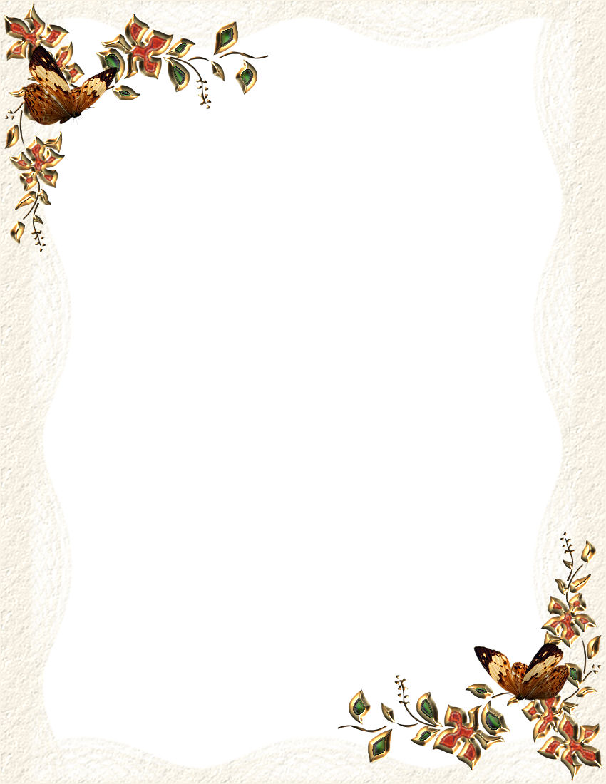 image about Free Printable Fall Borders named Autumn or Tumble 2 Template Downloads
