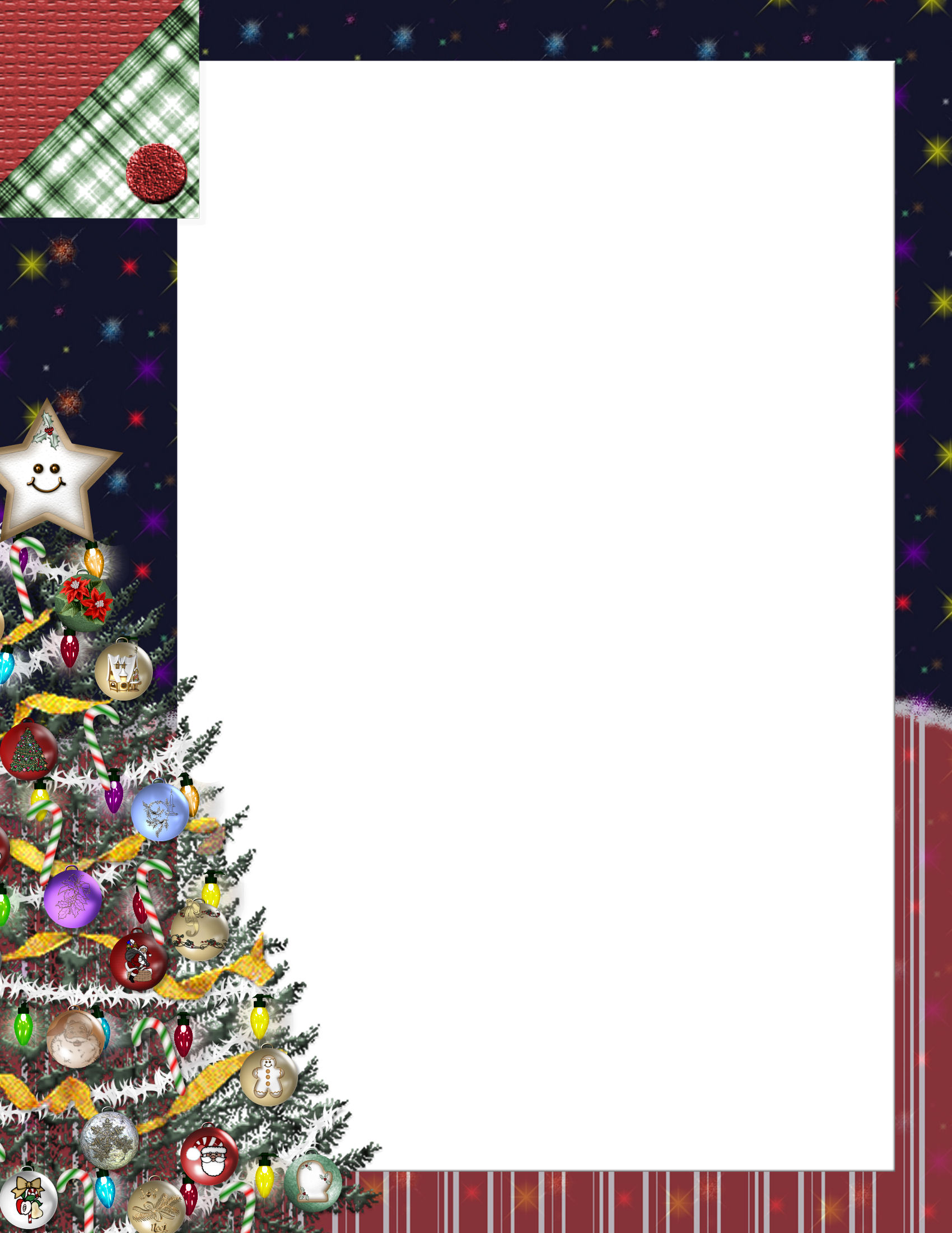 Christmas Stationery.Christmas 1 Free Stationery Com Template Downloads