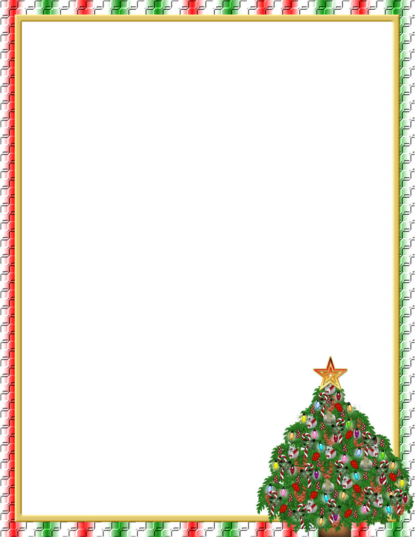 Christmas 1 FREE-Stationery.com Template Downloads on