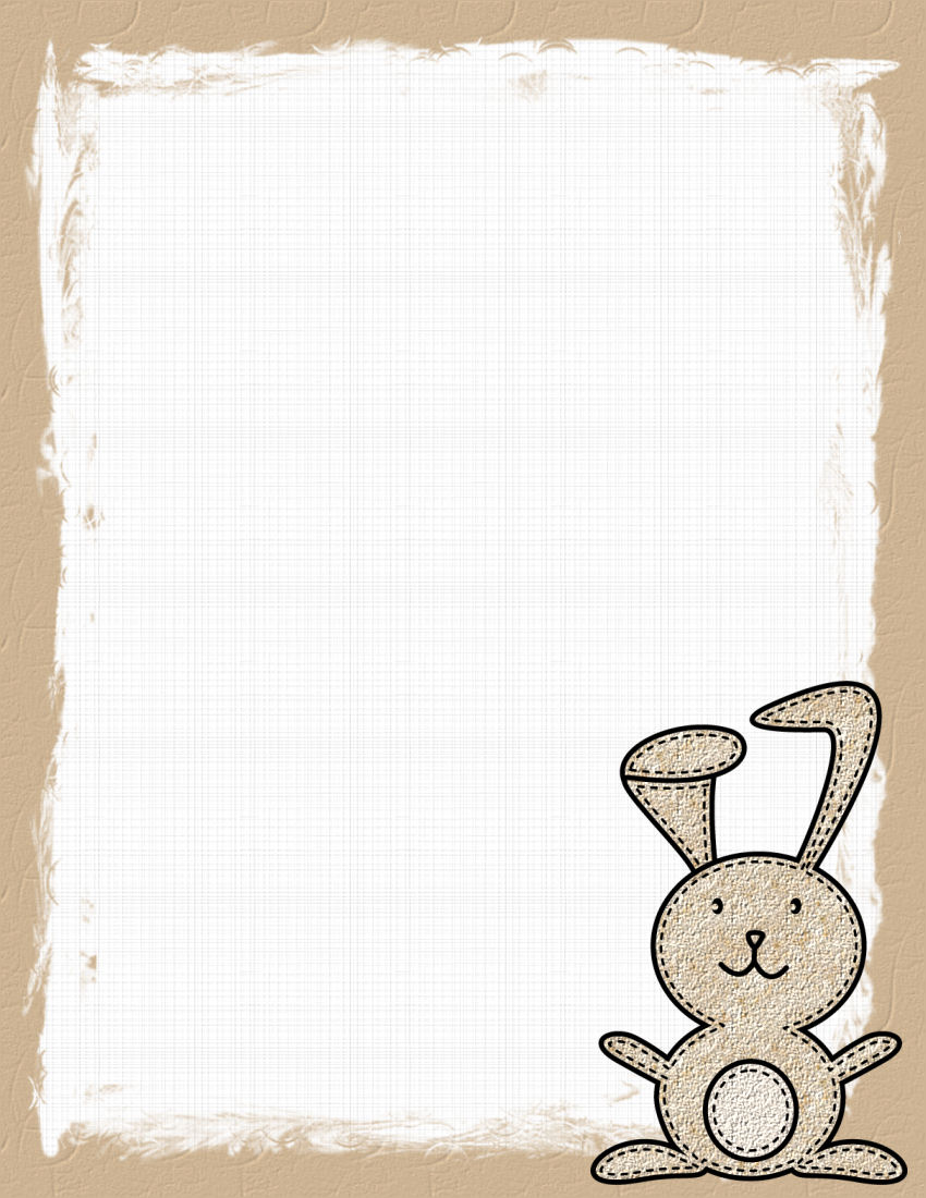 It is a photo of Easter Stationery Printable for cute